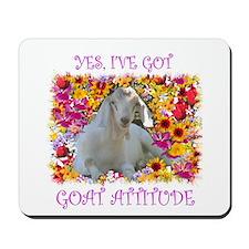 Goat Attitude! Mousepad