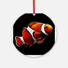 Orange Clownfish Tropical Clown Fish Ornament (Rou