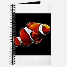 Orange Clownfish Tropical Clown Fish Journal