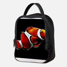 Orange Clownfish Tropical Clown Fish Neoprene Lunc