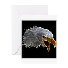 American Bald Eagle Head Greeting Cards