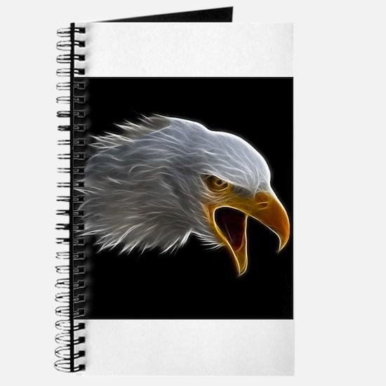 American Bald Eagle Head Journal