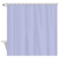 Periwinkle Blue Shower Curtain