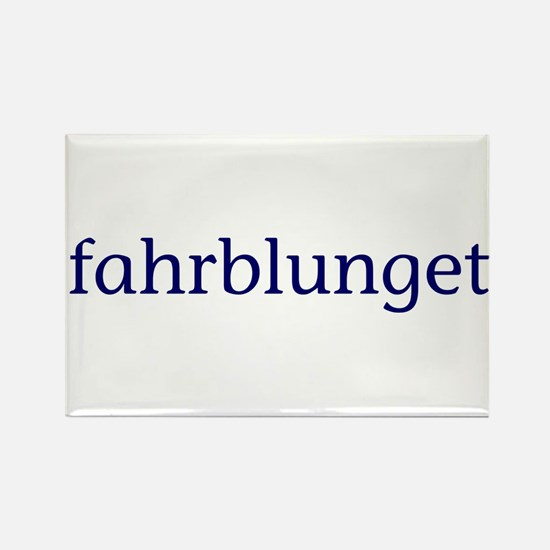 Fahrblunget Rectangle Magnet