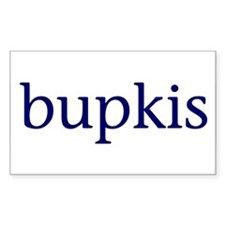 Bupkis Rectangle Decal