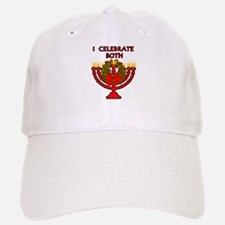 Christmas AND Hanukkah Baseball Baseball Cap