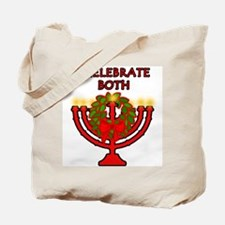 Christmas AND Hanukkah Tote Bag