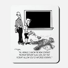 Vaporize Students To Reduce Class Size Mousepad