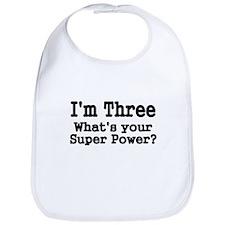 Im Three Bib