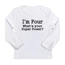 Im Four Long Sleeve T-Shirt