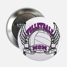 "Volleyball Mom 2.25"" Button"