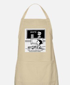 Divide 25 Books Among 34 Students Apron