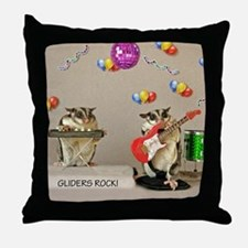 Gliders Rock Throw Pillow