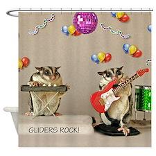 Gliders Rock Shower Curtain