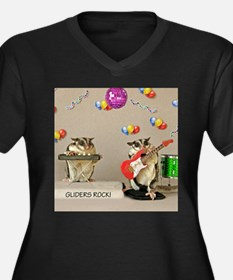 Gliders Rock Plus Size T-Shirt