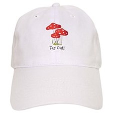Far Out Baseball Baseball Cap