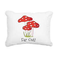 Far Out Rectangular Canvas Pillow