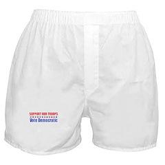 Support our Troops -- Vote De Boxer Shorts