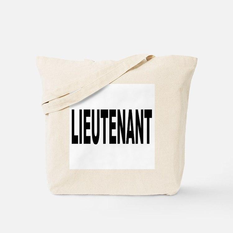 Lieutenant Tote Bag