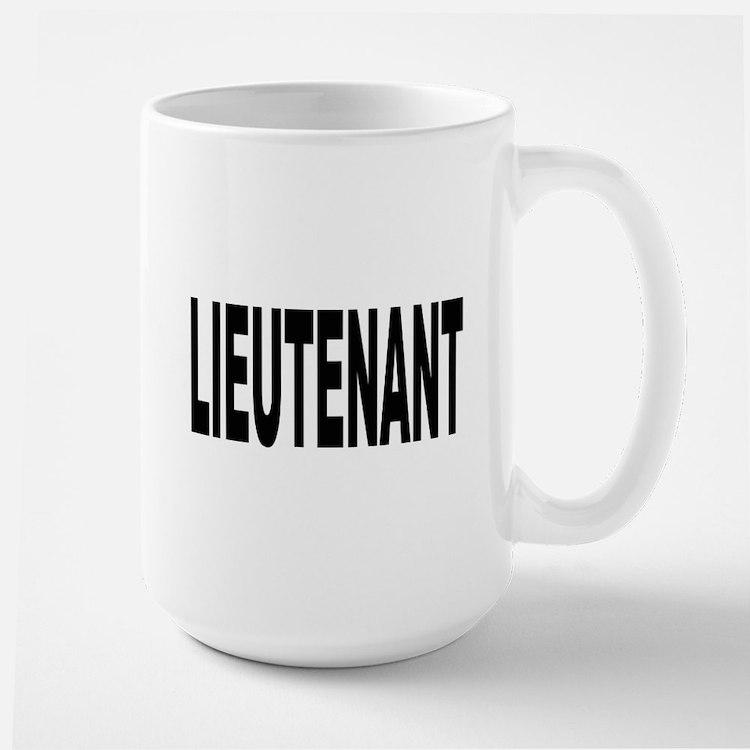 Lieutenant Mug