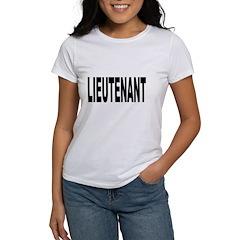 Lieutenant Tee