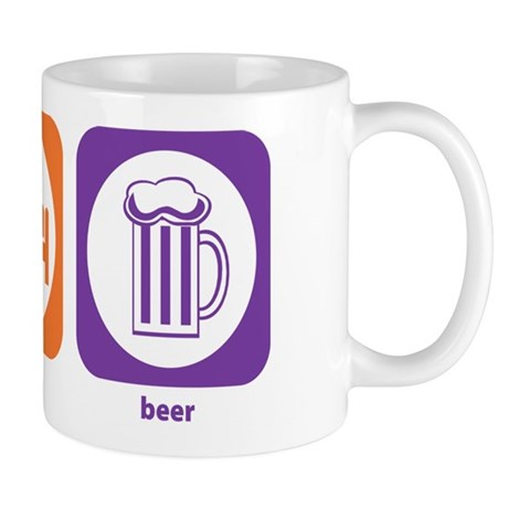 Eat Sleep Beer Mug