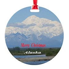 Mt. McKinley Alaska Ornament