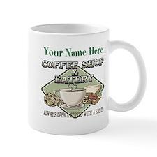 Personalizeable Coffee Shop Mugs