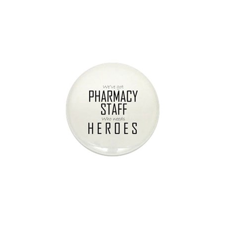 Who Needs Heroes? Mini Button (100 pack)