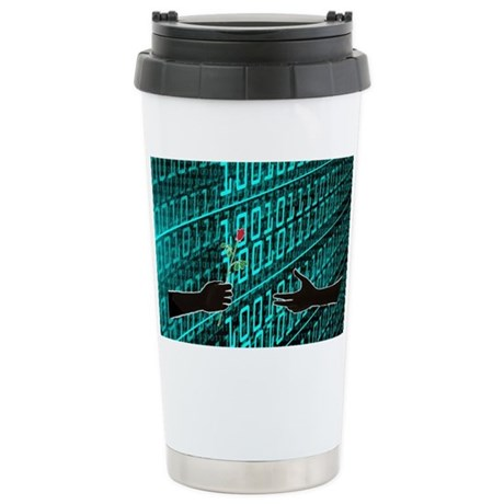 Life Finds a Way Stainless Steel Travel Mug
