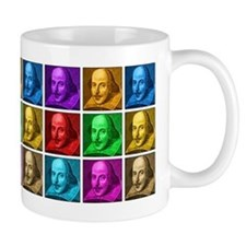 Shakespeare Pop Art Mugs