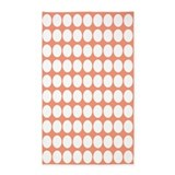 Orange polka dot rug 3x5 Rugs