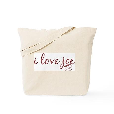 I Love Joe Tote Bag