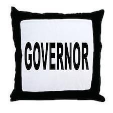 Governor Throw Pillow