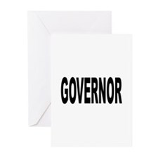 Governor Greeting Cards (Pk of 10)