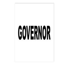 Governor Postcards (Package of 8)