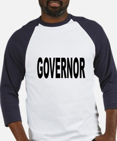 Governor (Front) Baseball Jersey