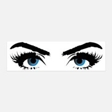 blue eye stare Wall Decal