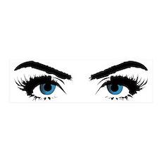 blue eye stare Wall Sticker