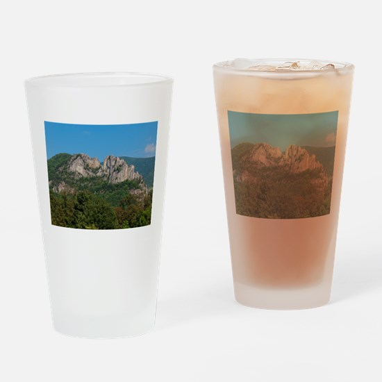 SENECA ROCKS Drinking Glass