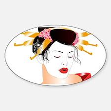 My Japan Sticker (Oval)