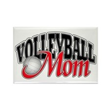 Volleyball Mom Rectangle Magnet