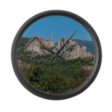 SENECA ROCKS Large Wall Clock