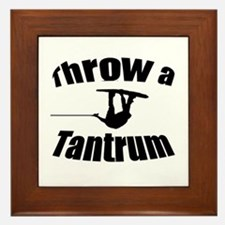 Throw a Tantrum Framed Tile