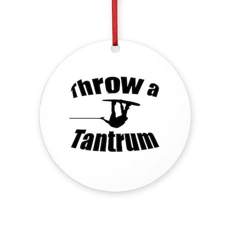 Throw a Tantrum Ornament (Round)