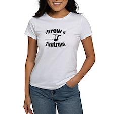 Throw a Tantrum Tee