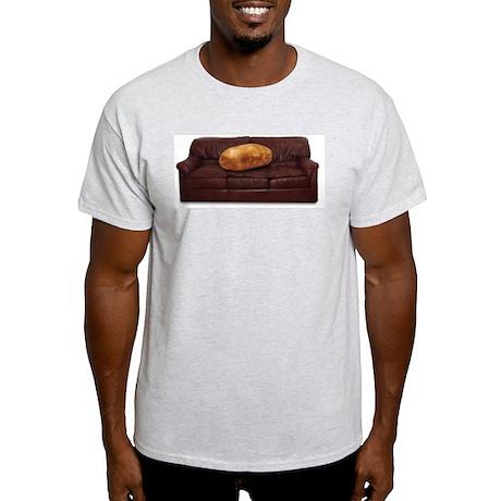 Couch Potato Ash Grey T-Shirt