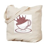 Royal Coffee Tote Bag