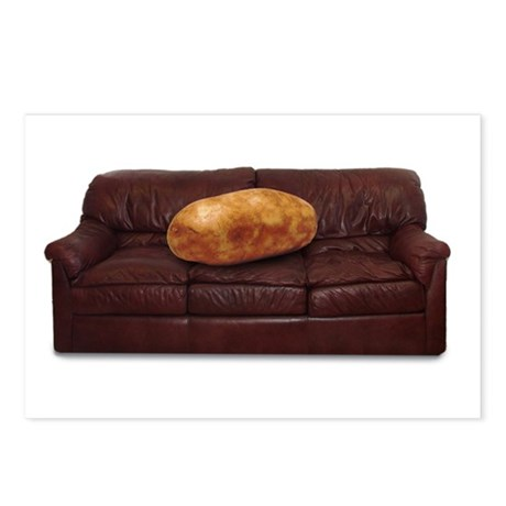 Couch Potato Postcards (Package of 8)