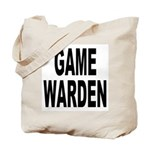 Game Warden Tote Bag